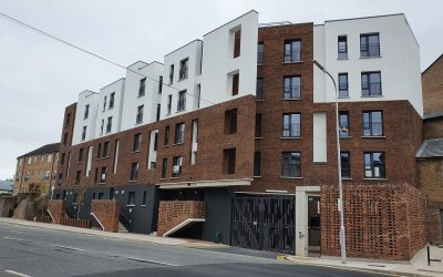 Poplar Row Apartment Block Development Complete!