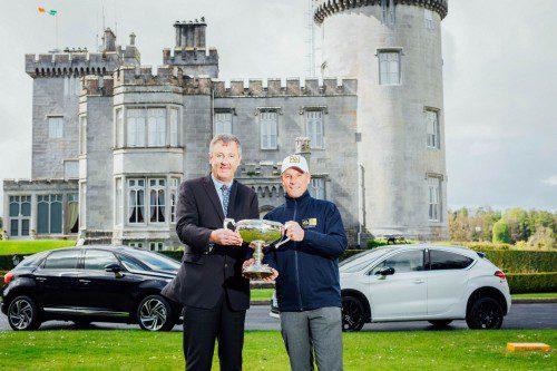 No Repro Fee Dromoland PGA 18 Launch. Pic. Brian Arthur