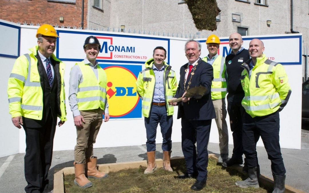Sod Turned to Mark The Commencement of The New LIDL Development at Childers Road, Limerick!
