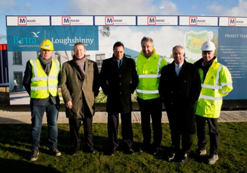 Loughshinney Sod Turning 1