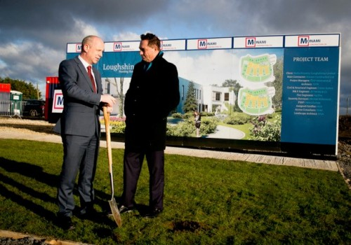 Loughshinney Sod Turning 2