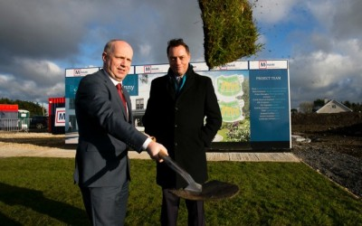 Bartra Capital Turns the Sod at Loughshinny Nursing Home