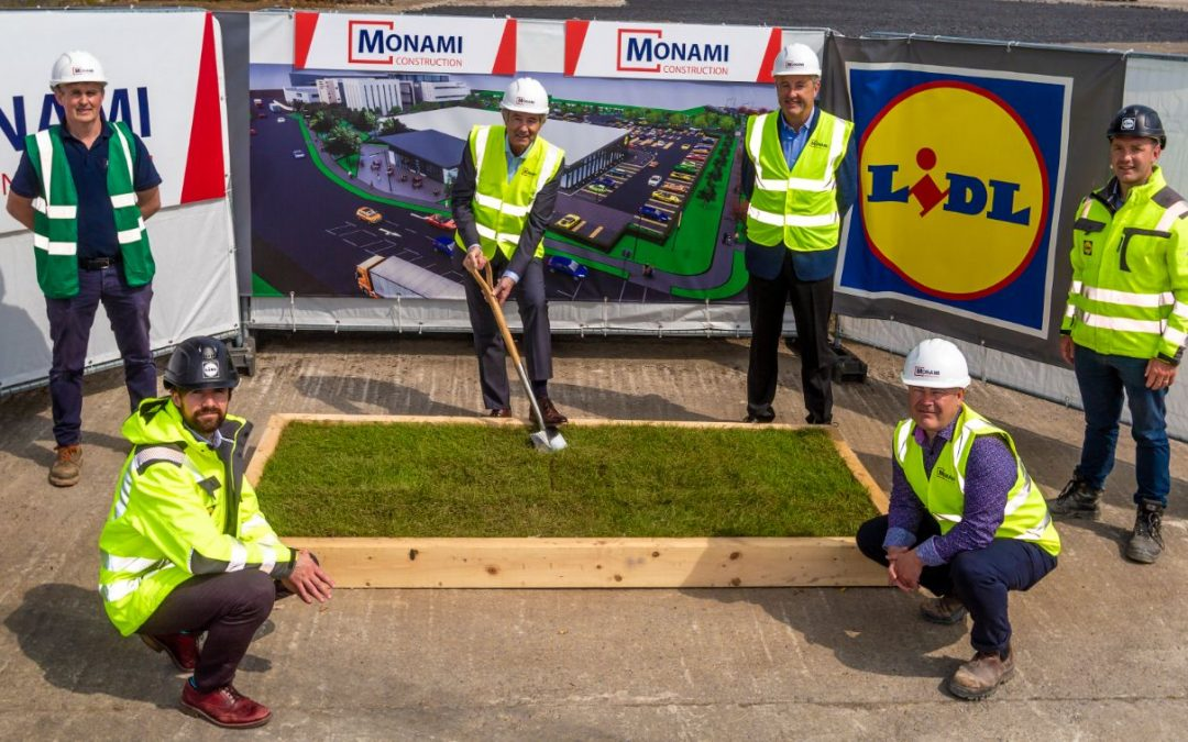 Sod Turned to Mark the Commencement of the New Lidl Thurles Store Development!