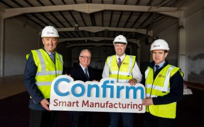 Monami announced as Main Contractor for the CONFIRM Smart Manufacturing Headquarters!