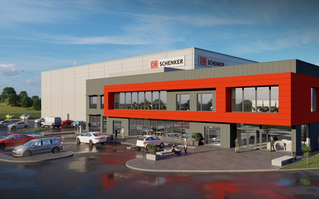 Monami Awarded Main Contract for DB Schenker Shannon!